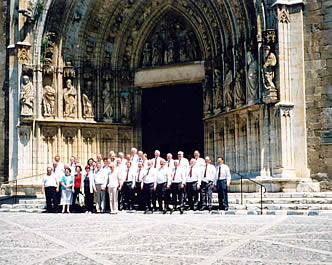 The choir at the 11th century Basilica Church at Castello d'Empuries