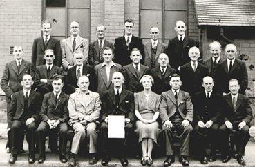Winning the Colwyn National Eisteddfod 1947