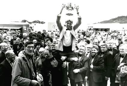 Victory at Porthmadog National Eisteddfod, 1987
