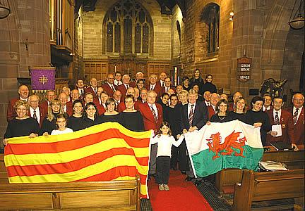 Cor Meibion Colwyn and Cor Preludi at St John's Church, Old Colwyn