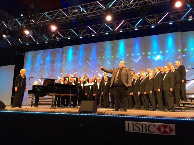 The Choir at Meifod 2015