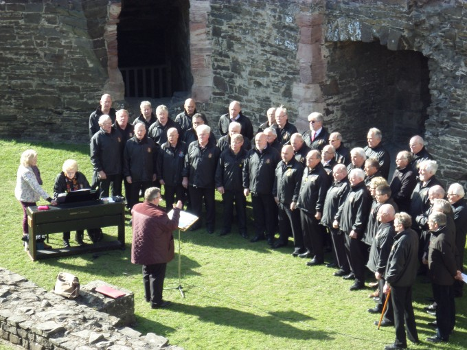 Choir at Conwy Castle