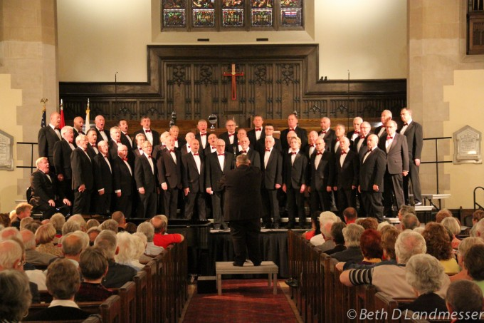 Choir at the NAFOW Concert in Calgary. Picture courtesy of Beth DLandmesser